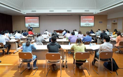 """公共管理学院EDP中心召开""""两学一做""""专题学习会议"""
